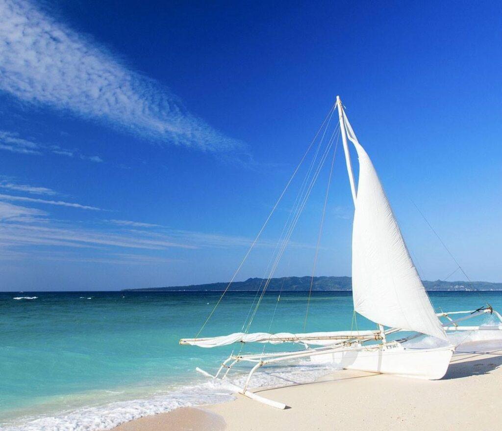 Puka Shell Beach, Boracay, Philippines