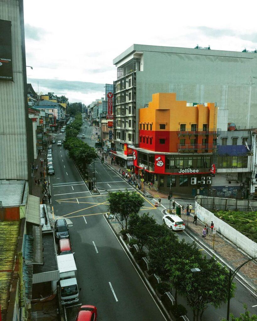 Session Road, Baguio City, Philippines