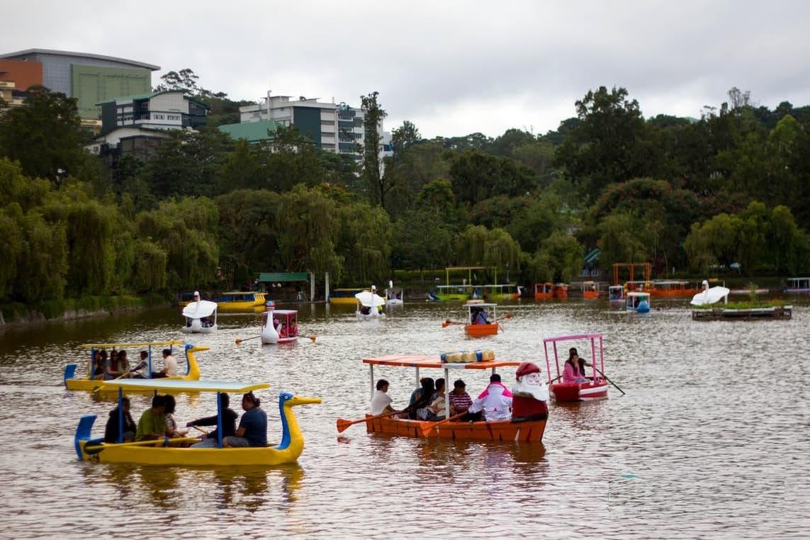 Burnham Park, Baguio City, Philippines