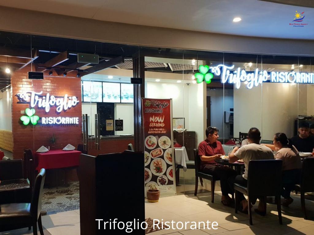 Trifoglio Ristorante, Tagaytay